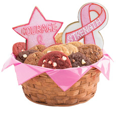 Hope, Faith, Love, Awareness Cookie Basket