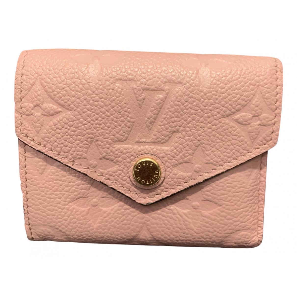 Louis Vuitton - Petite maroquinerie   pour femme en cuir - rose