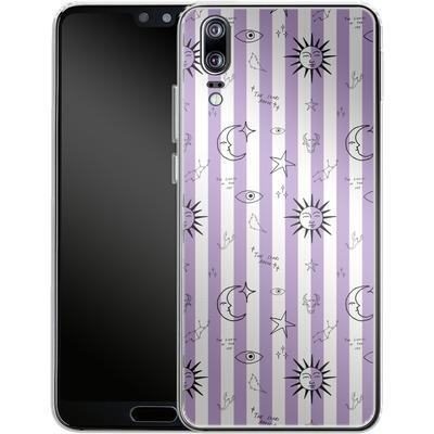 Huawei P20 Silikon Handyhuelle - Optical Zodiac von caseable Designs