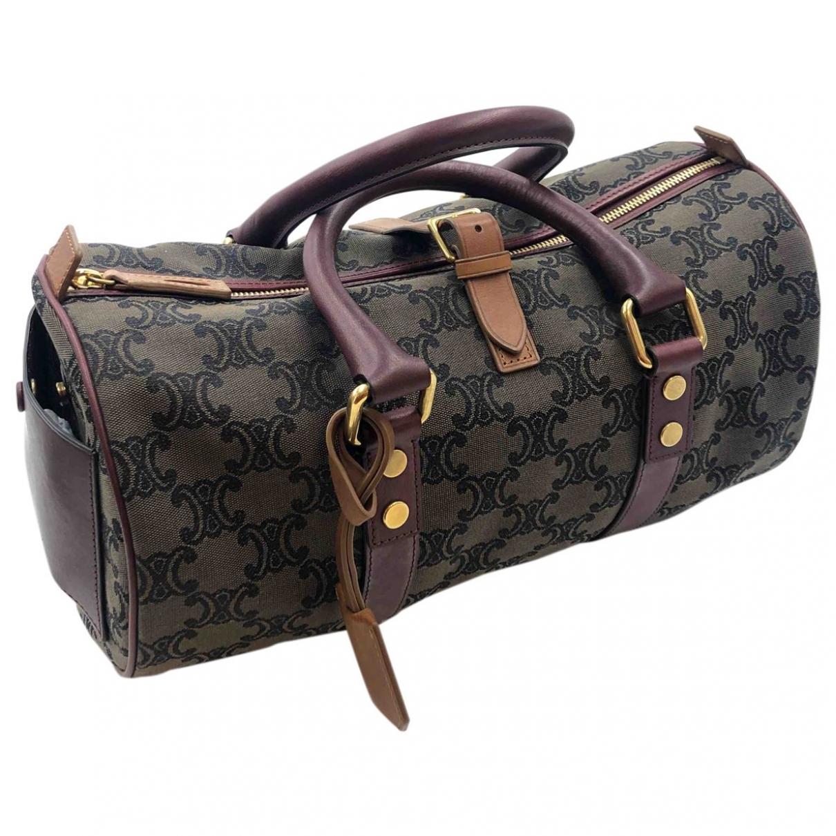 Celine \N Leather handbag for Women \N