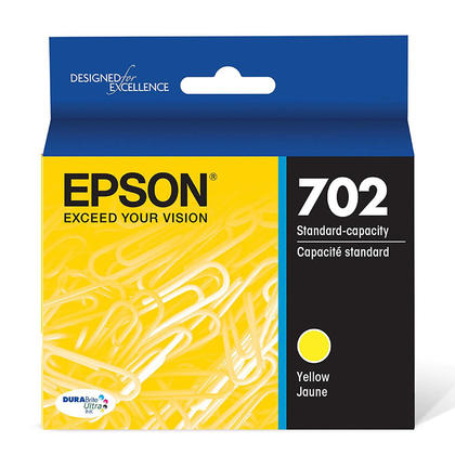 Epson T702 T702420-S Original Yellow Ink Cartridge