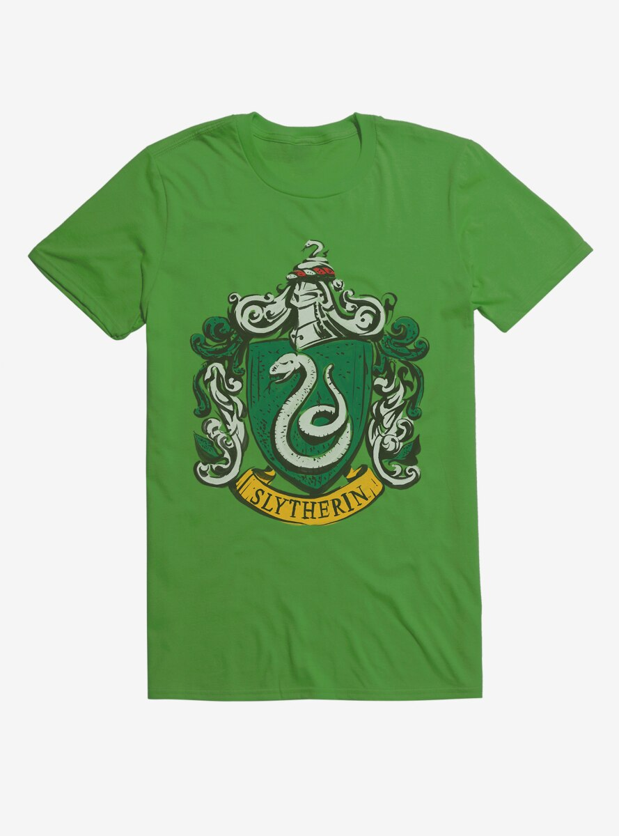 Harry Potter Slytherin Serpent Logo T-Shirt