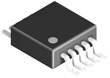 Texas Instruments ADS1014IDGST, 12-bit Serial ADC Differential, Single Ended Input, 10-Pin VSSOP