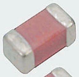 Murata , 0402 (1005M) 1.8nF Multilayer Ceramic Capacitor MLCC 10V dc ±5% , SMD GRM1551X1A182JA01D (100)