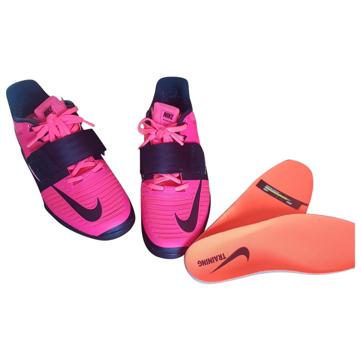 Nike - Baskets   pour homme en caoutchouc - rouge