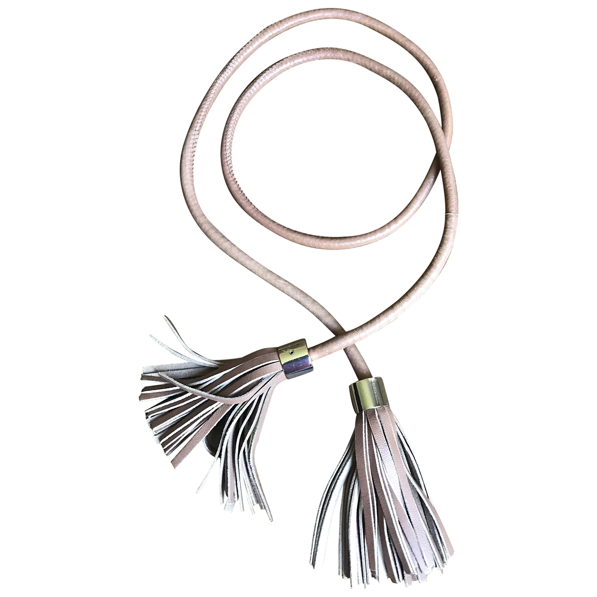 Uterque \N Camel Leather belt for Women M International