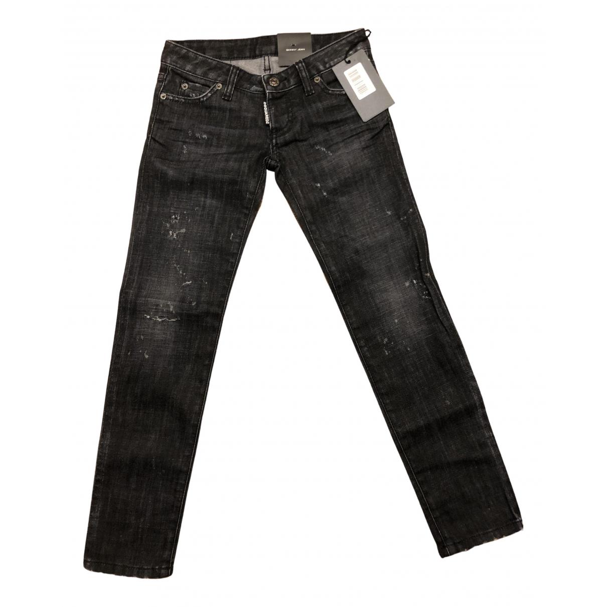 Dsquared2 - Pantalon   pour enfant en coton - noir