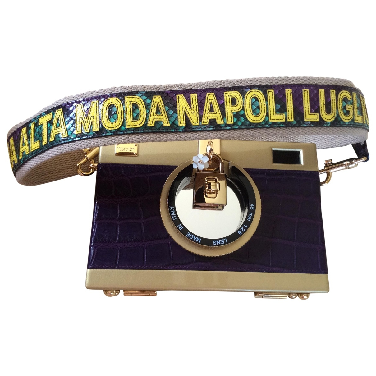 Dolce & Gabbana \N Purple Exotic leathers handbag for Women \N