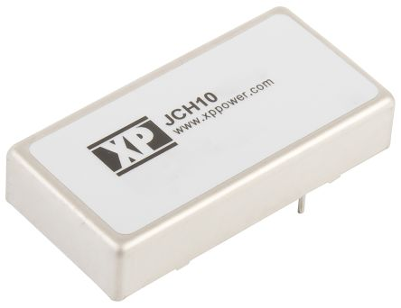 XP Power JCH 10W Isolated DC-DC Converter Through Hole, Voltage in 9 → 18 V dc, Voltage out ±15V dc