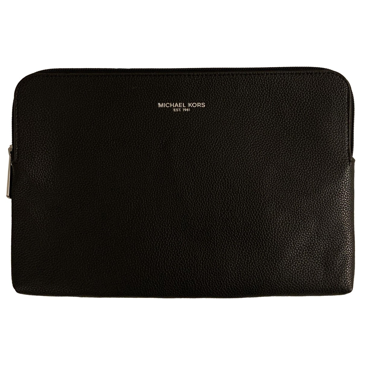 Michael Kors \N Clutch in  Schwarz Leder