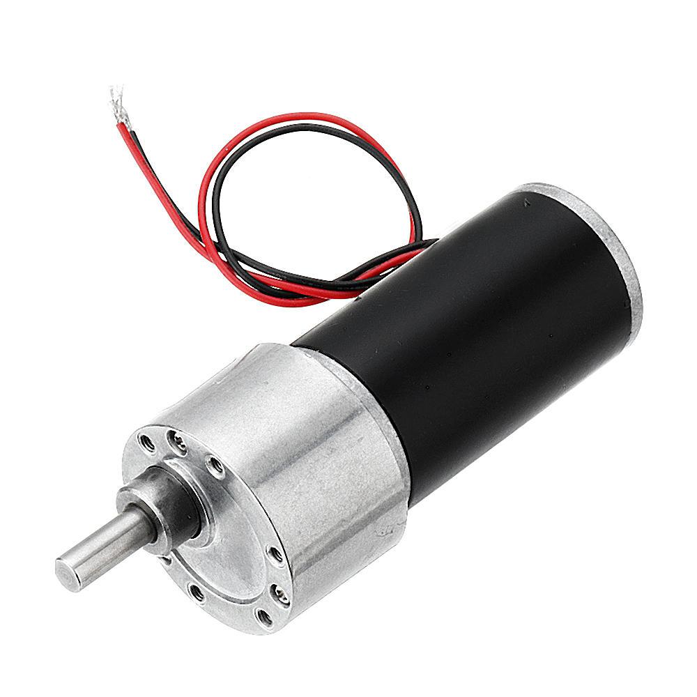 Machifit DC 24V Permanent Magnet Motor 90/140rpm Turbular Gear Reducer Motor