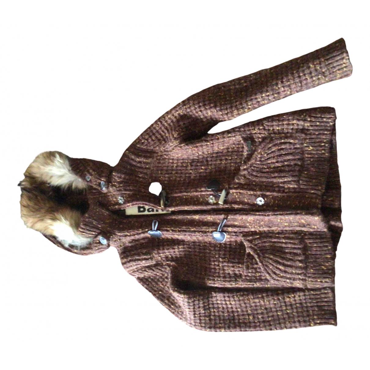 Bark - Manteau   pour femme en laine - marron
