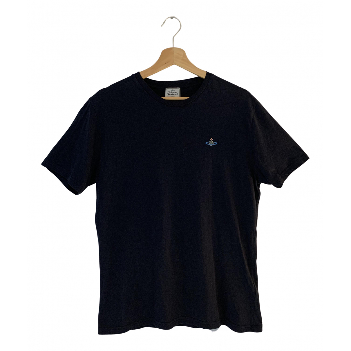 Vivienne Westwood N Navy Cotton T-shirts for Men L International