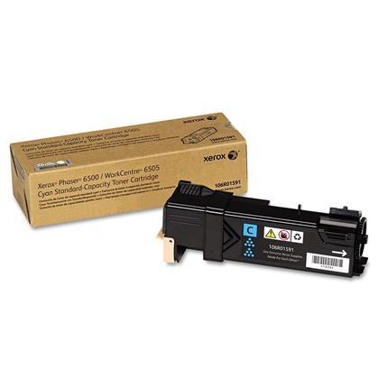 Xerox 106R01591 Original Cyan Toner Cartridge For Phaser 6500 WorkCentre 6505 Printer