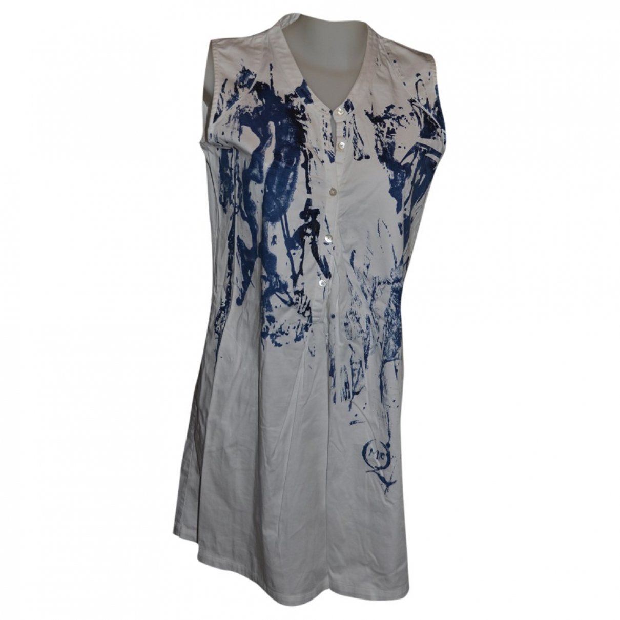 Mcq \N Kleid in  Bunt Baumwolle - Elasthan