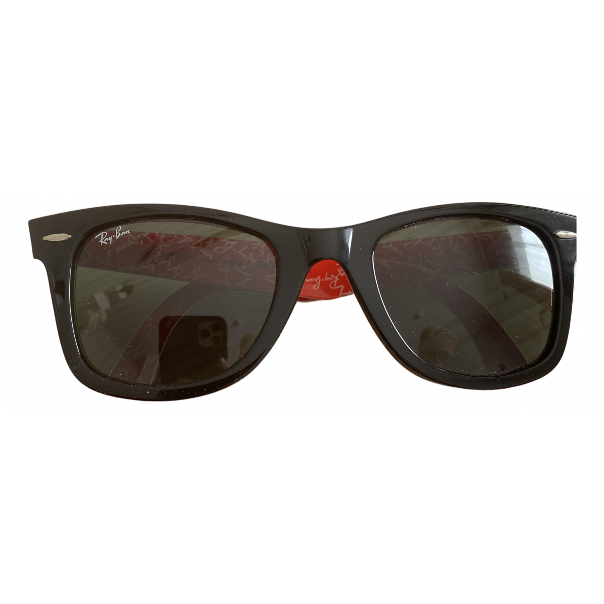 Ray-ban New Wayfarer Black Sunglasses for Women N