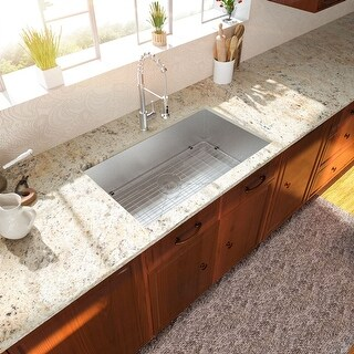 Lordear 25 Inch Kitchen Sink Undermount Stainless Steel Kitchen Sink Single Bowl (33
