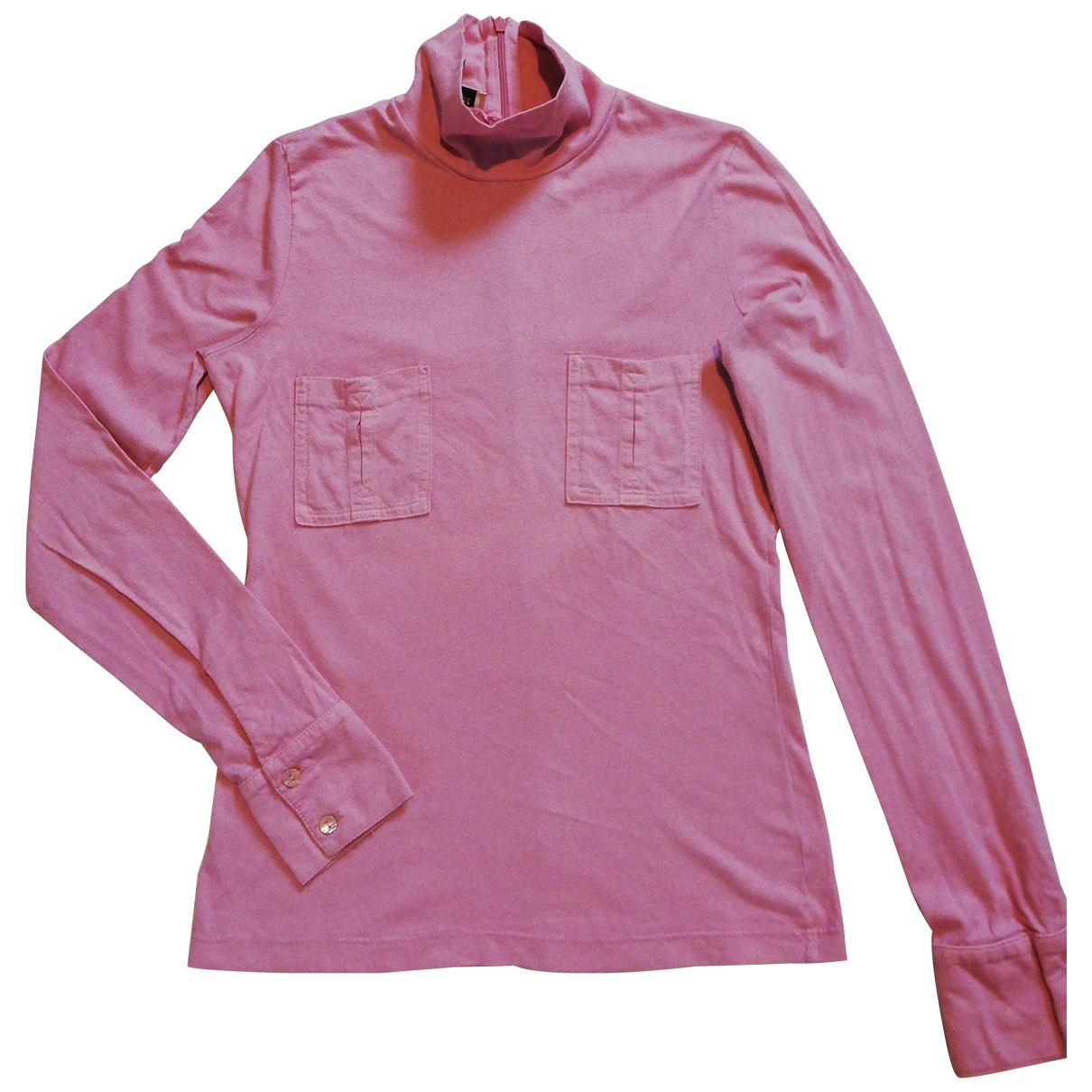 See By Chloé \N Pink Cotton  top for Women 38 FR