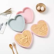 1 Stueck Zufaellige Kuchenform in Herzenform