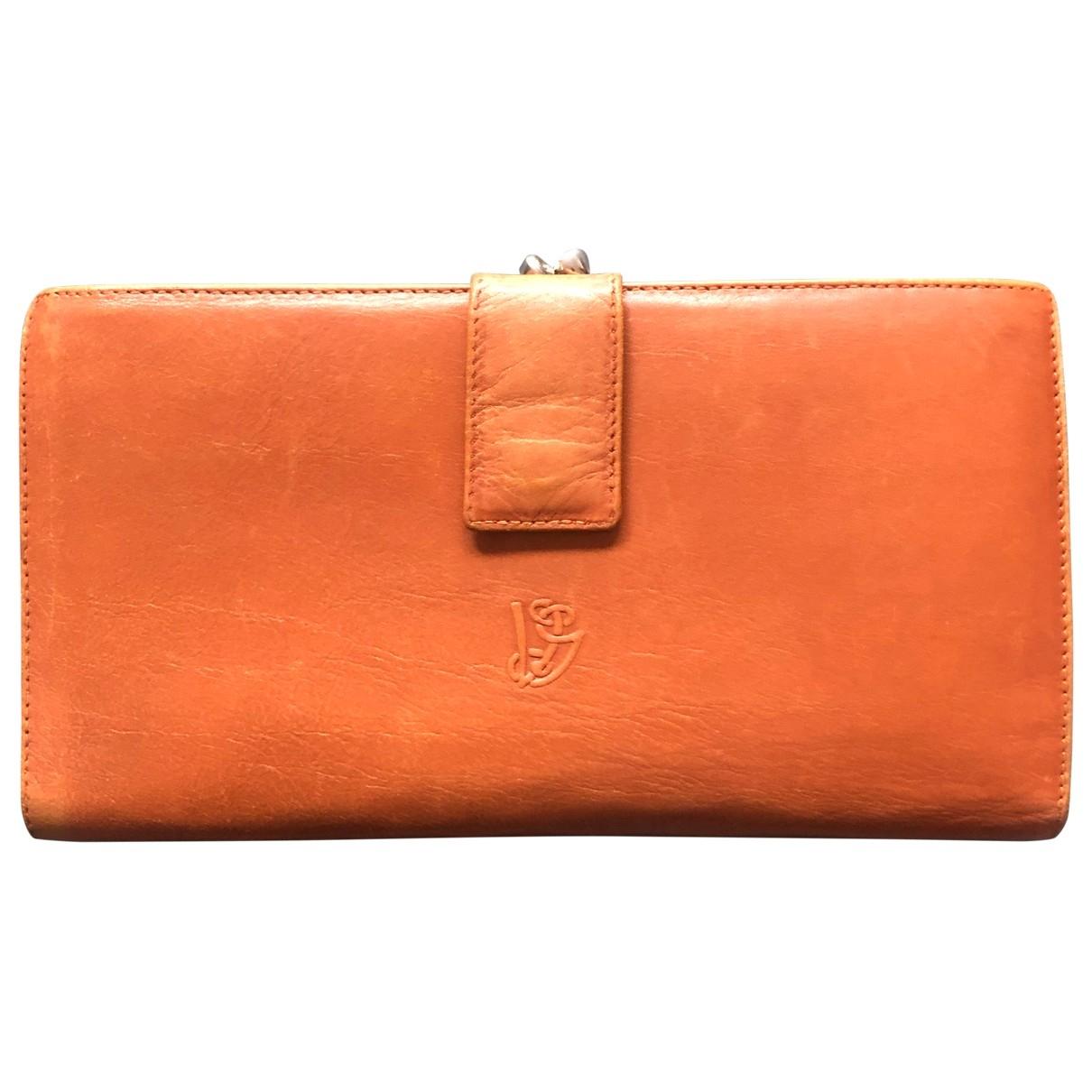 Valentino Garavani \N Leather wallet for Women \N