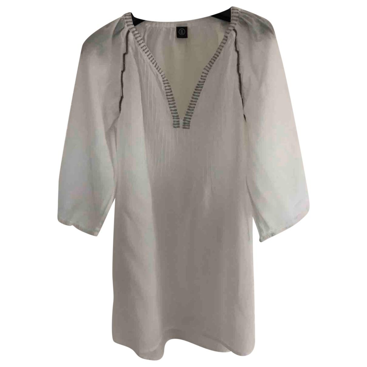 Bogner \N White Cotton  top for Women M International