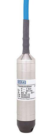 WIKA Pressure Sensor for Liquid , 2.8psi Max Pressure Reading Analogue