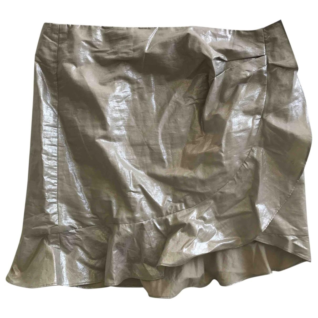 Isabel Marant \N Rocke in  Metallic Baumwolle