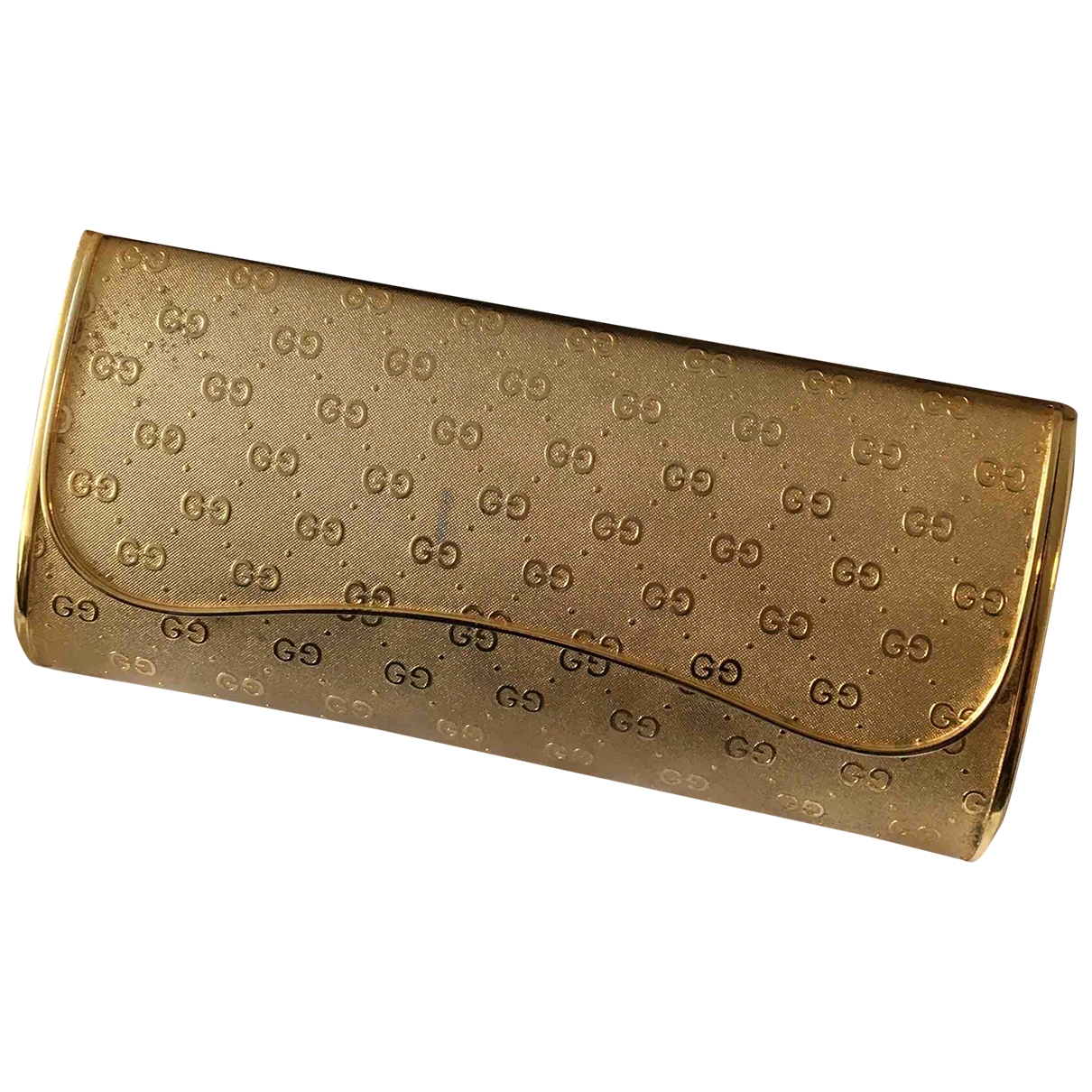 Gucci \N Gold Metal Clutch bag for Women \N