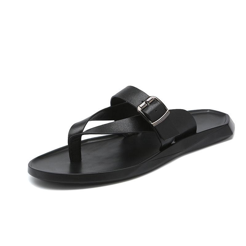 Ericdress Plain Thong Summer Simple Men's Slippers