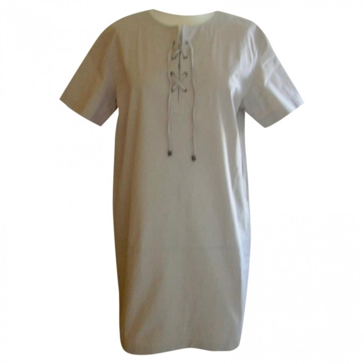 Gerard Darel \N Kleid in  Beige Baumwolle - Elasthan