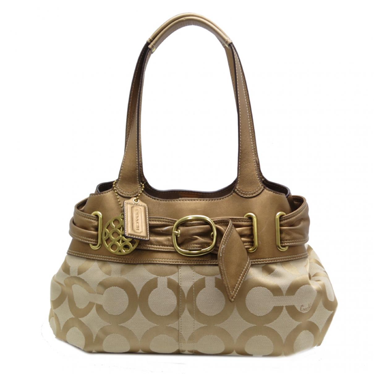 Coach \N Brown Cloth handbag for Women \N