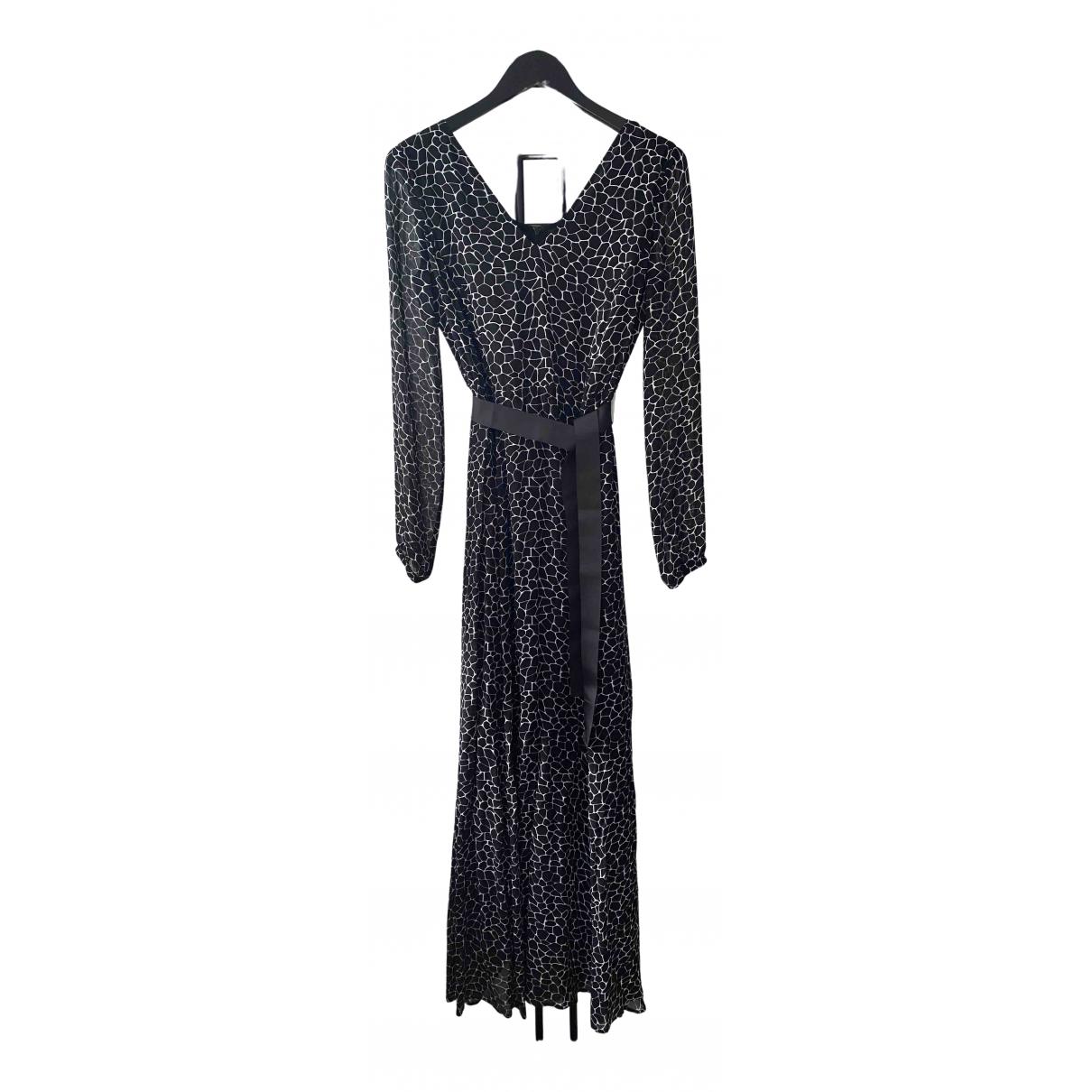 Armani Jeans \N Kleid in  Schwarz Viskose