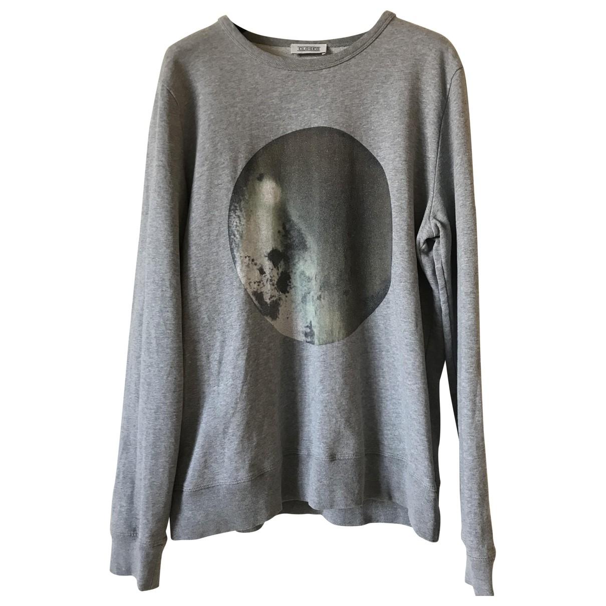 Closed \N Pullover.Westen.Sweatshirts  in  Grau Baumwolle