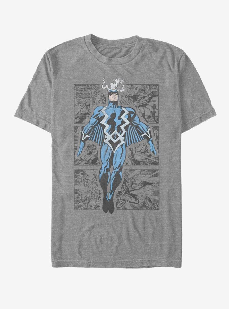 Marvel Black Bolt Three Panel T-Shirt