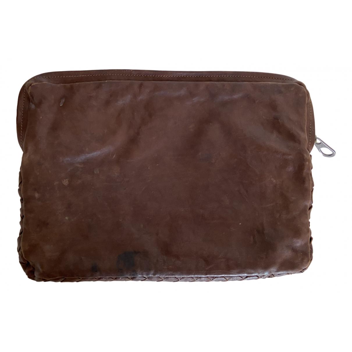 Bottega Veneta - Petite maroquinerie   pour homme en cuir - marron