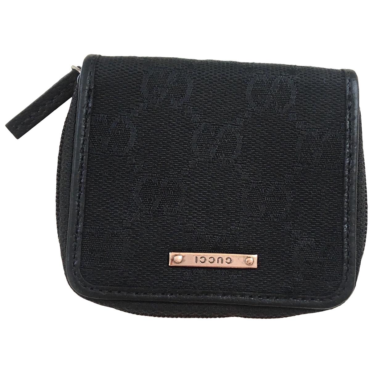 Gucci - Petite maroquinerie Ophidia pour femme en toile - noir
