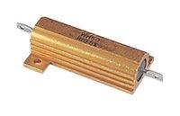 Vishay RH050 Series Aluminium Axial Wire Wound Panel Mount Resistor, 400Ω ±1% 50W