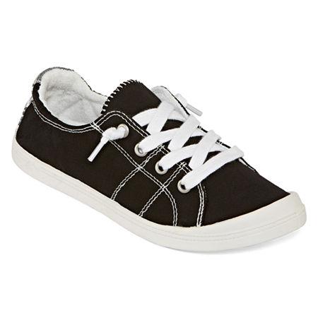 Pop Highbar Womens Sneakers, 11 Medium, Black