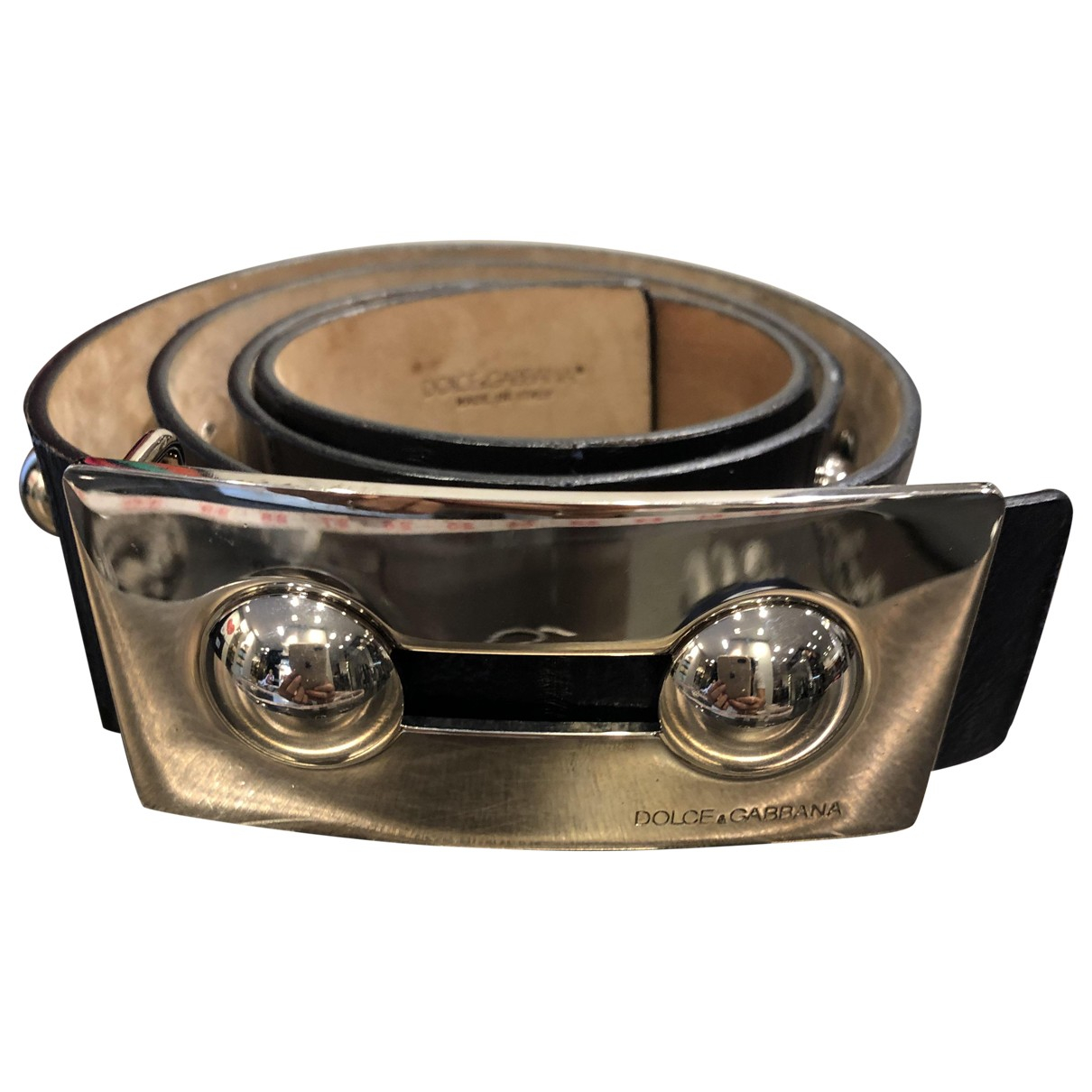 Dolce & Gabbana \N Leather belt for Women 90 cm