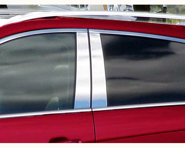 Quality Automotive Accessories 4-Piece Pillar Post Trim Kit Cadillac SRX 2012