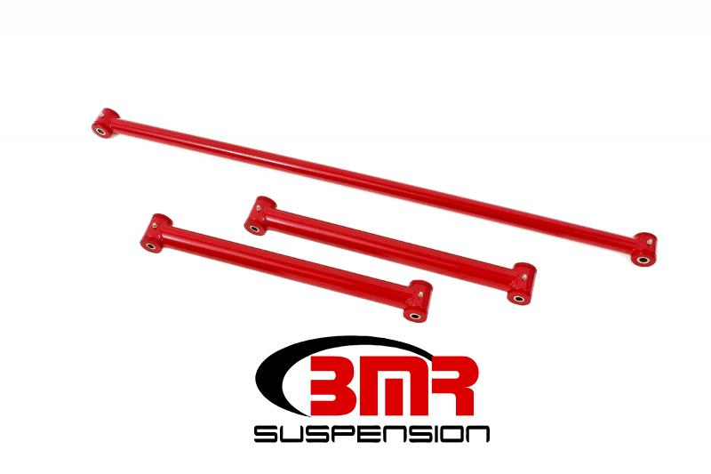 BMR Suspension RSK031R Rear Suspension Kit, Non Adjustable, Poly Red Chevrolet Camaro   Pontiac Firebird 82-02