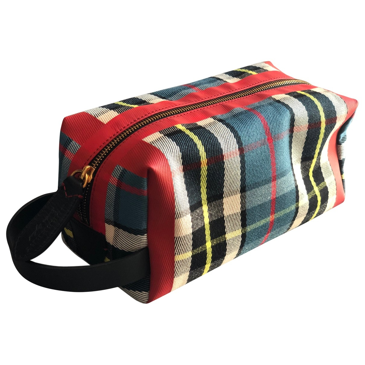 Bolsos clutch en Algodon Multicolor Burberry