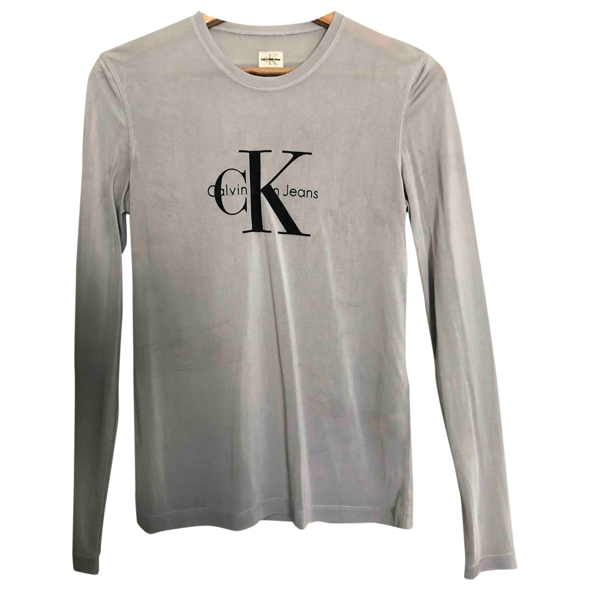 Calvin Klein \N Silver  top for Women S International