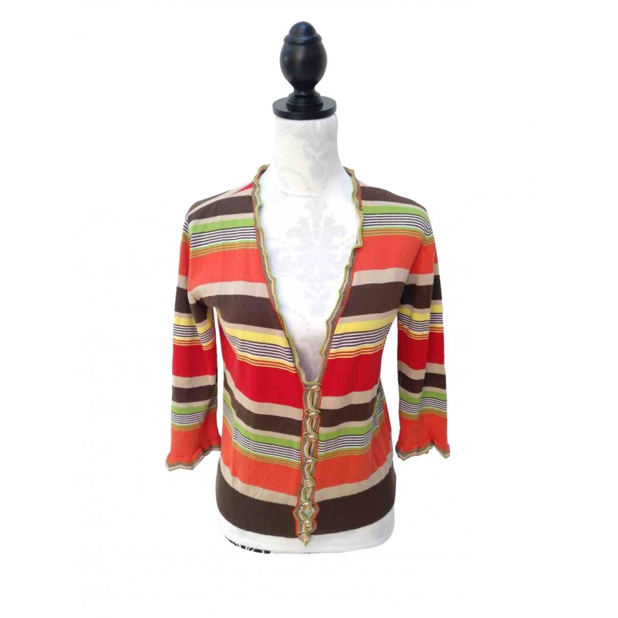 Dolce & Gabbana - Pull   pour femme en coton - multicolore