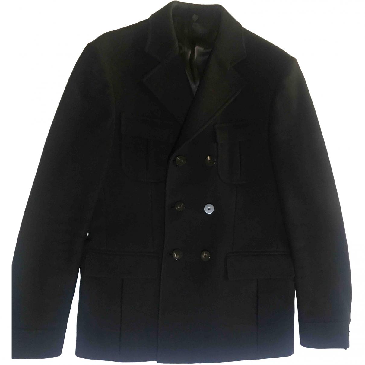 Tonello - Vestes.Blousons   pour homme en laine - noir