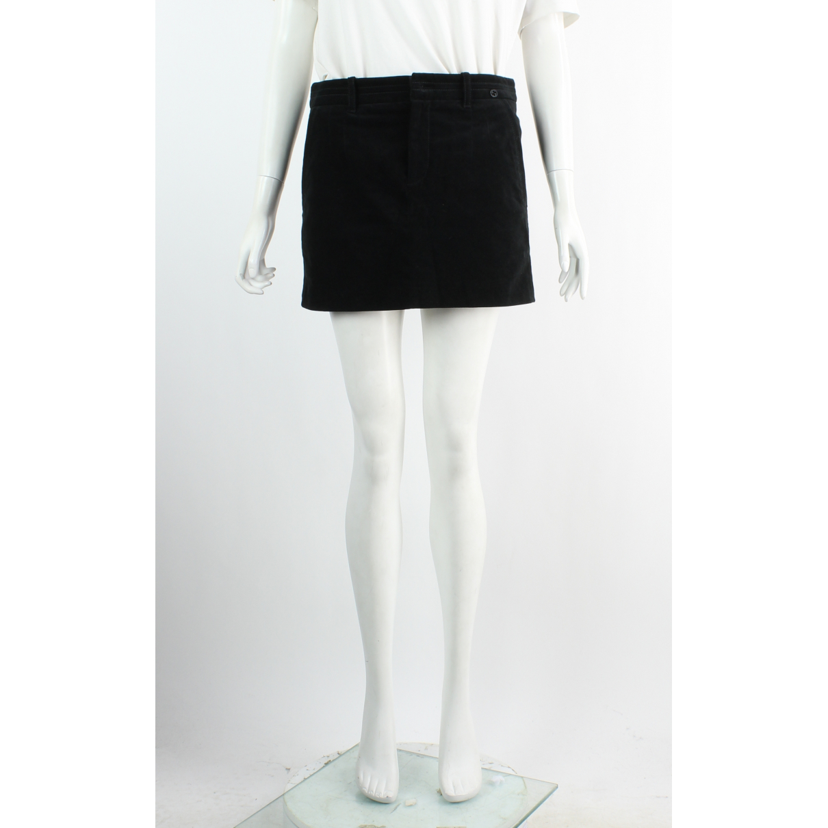 Gucci \N Black Cotton skirt for Women 40 FR