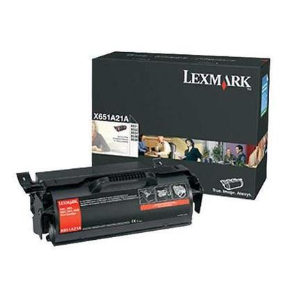Lexmark X651A21A Original Black Toner Cartridge