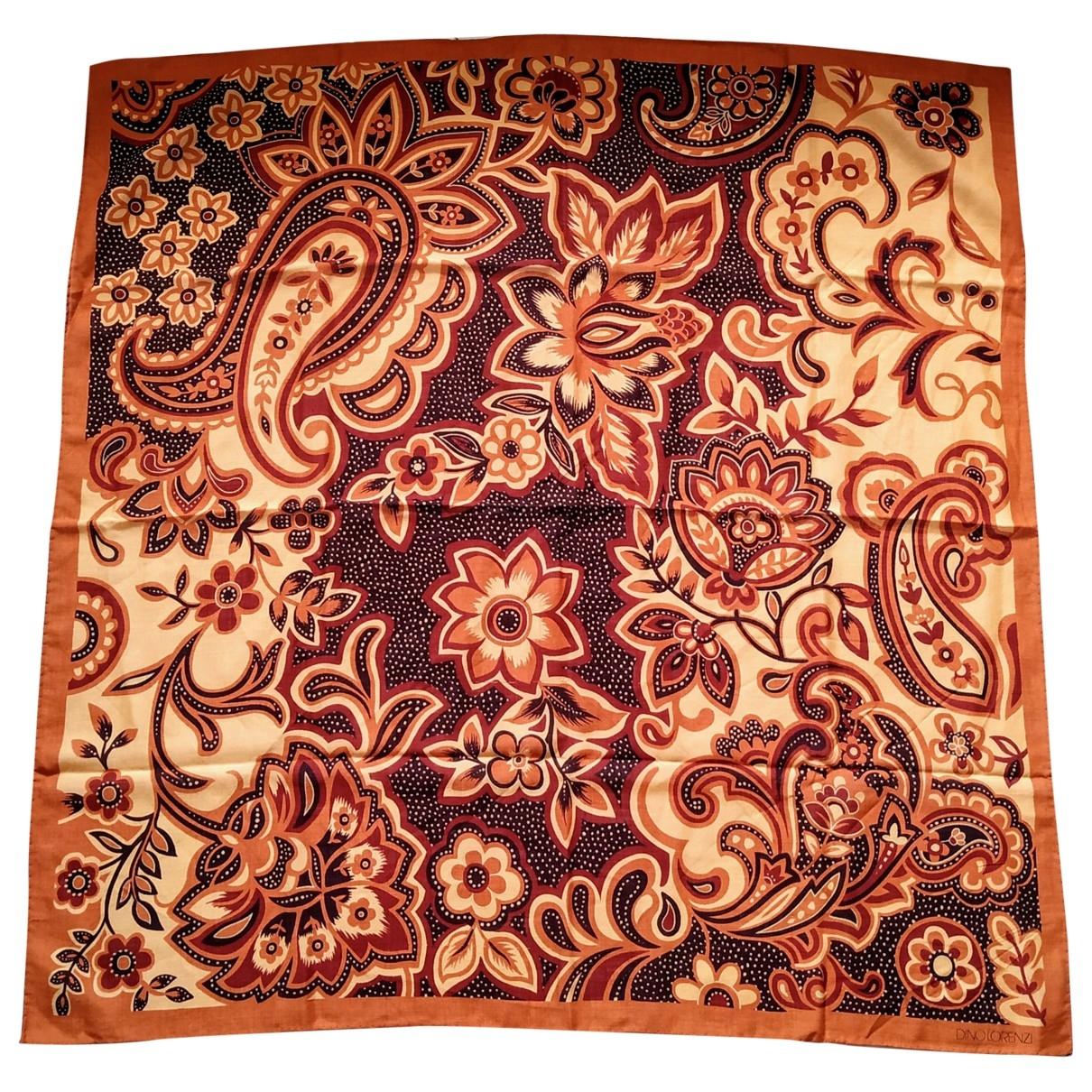 - Foulard Hippie Chic pour femme en coton - orange