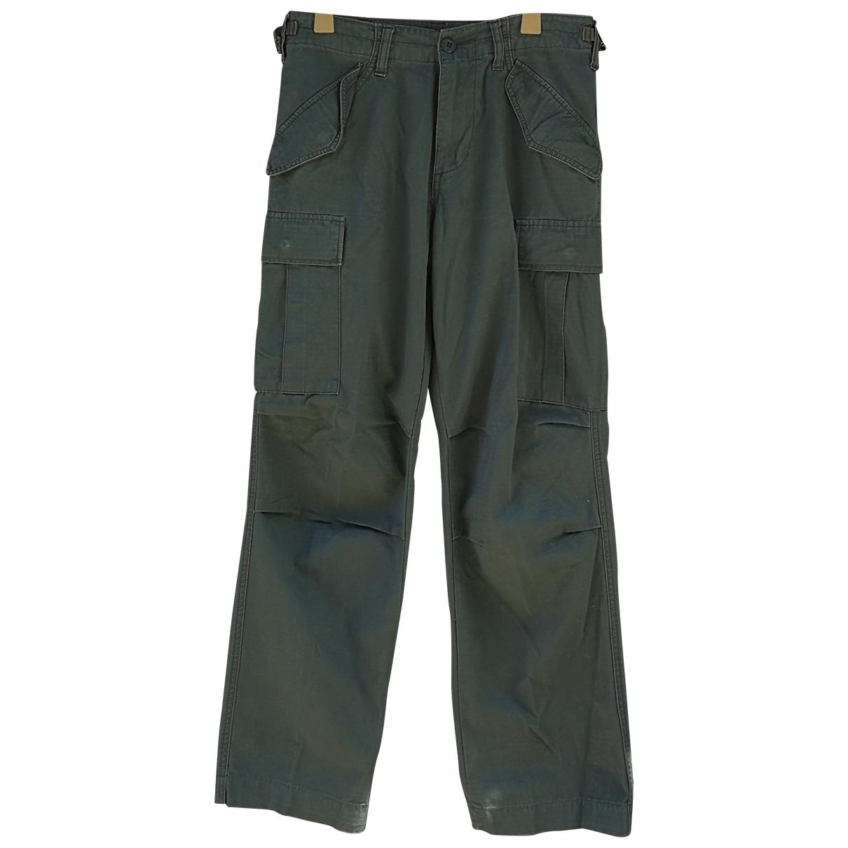 Alpha Industries - Pantalon   pour homme en denim - vert