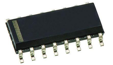 STMicroelectronics ST3232EBDR, Line Transceiver, RS-232 2-TX 2-RX, 3.3 V, 5 V, 16-Pin SOIC (5)